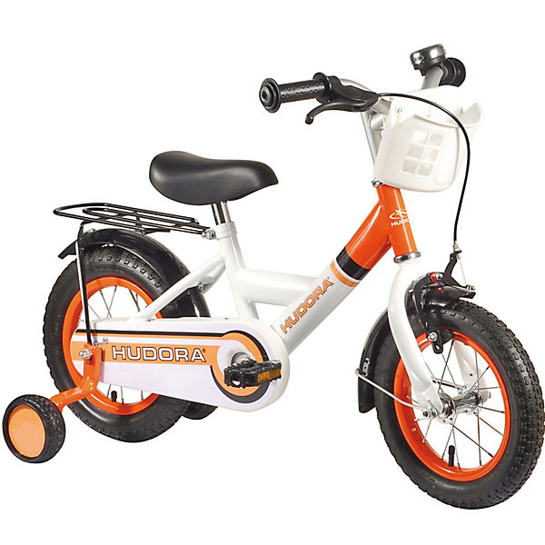 kinderfahrrad 12 zoll orange hudora mytoys. Black Bedroom Furniture Sets. Home Design Ideas