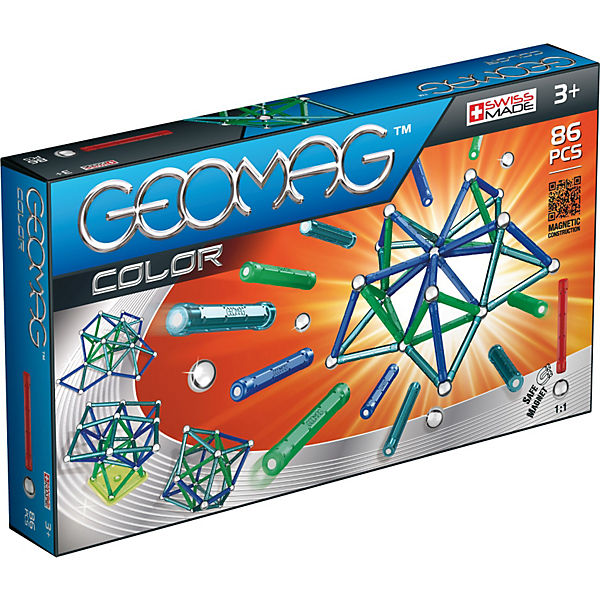 Geomag Color, 86-tlg.
