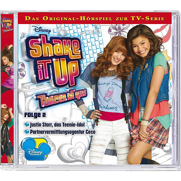 CD Disney Shake it up - Tanzen ist Alles Vol. 2