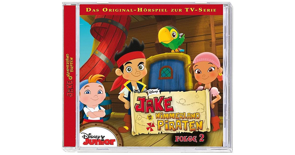 CD Jake und die Nimmerland Piraten 2 Hörbuch