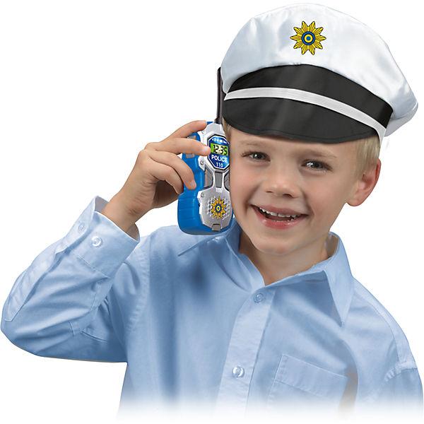 walkie talkie polizei 2 st ck dickie toys mytoys. Black Bedroom Furniture Sets. Home Design Ideas
