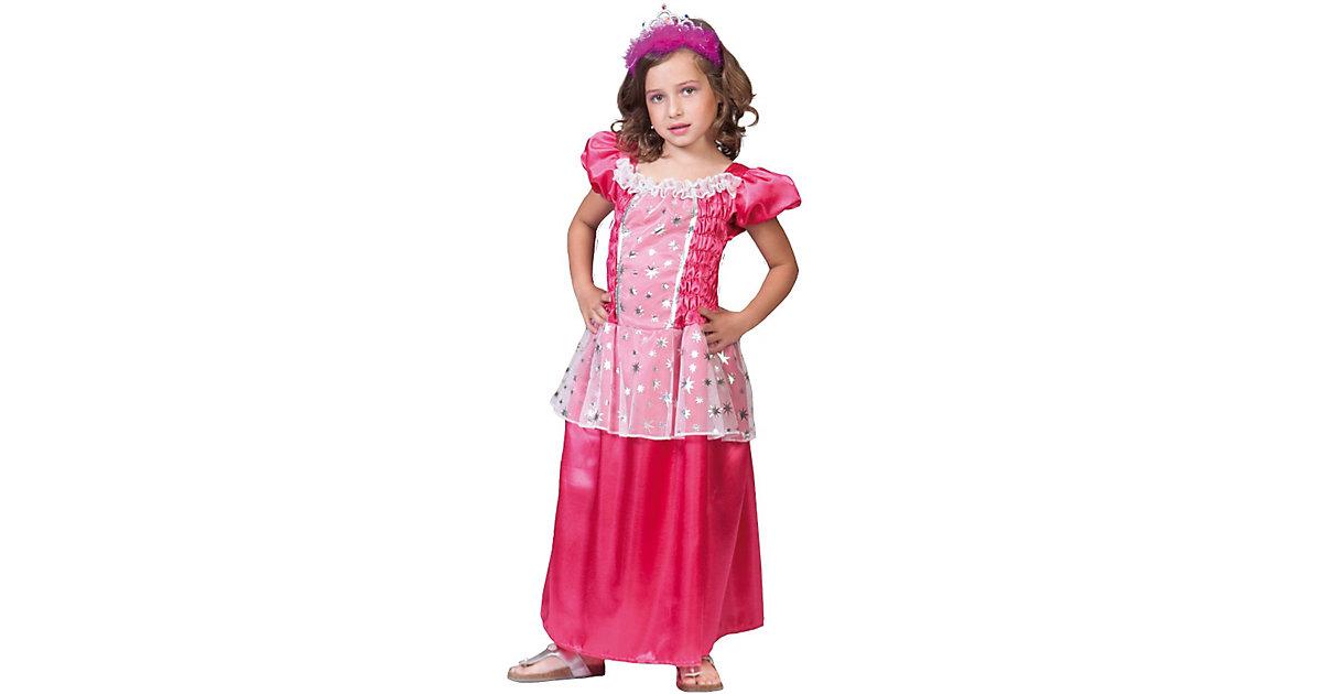 Kostüm Prinzessin Rosa Gr. 128 Mädchen Kinder