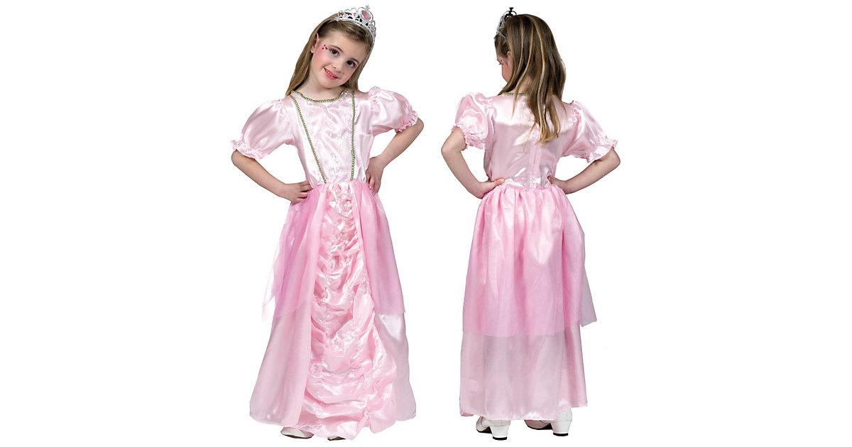 Kostüm Prinzessin Rosie, mit Diadem Gr. 128 Mädchen Kinder