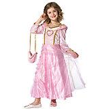 Kostüm Prinzessin Bella Rosa, mit Handtasche