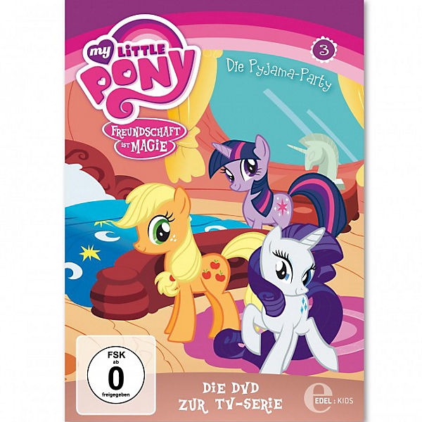 DVD My little Pony 03 - Die Pyjama Party