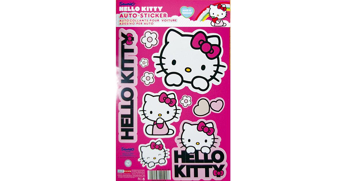 Hello Kitty Auto-Aufkleber-Set