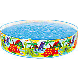 """Детский надувной бассейн """"Зоопарк"""", Intex"""