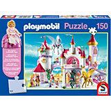 Im Prinzessinnenschloss, 150 Teile, Kinderpuzzle Playmobil mit Figur