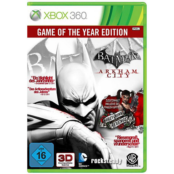 XBOX360 Batman - Arkham City - GOTY