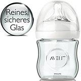 Weithals Flasche Natural SCF671/17, Glas, 120 ml, Silikonsauger