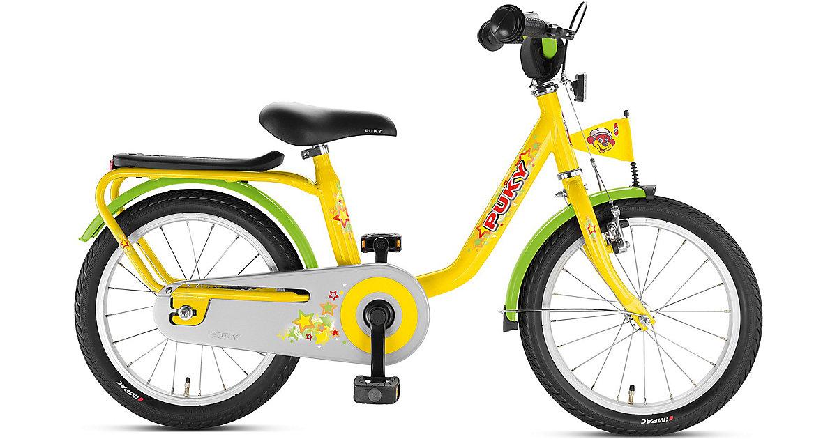 Fahrrad Z 6, 16 Zoll, gelb