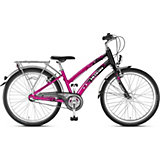 PUKY  Fahrrad Skyride 24-3 Alu, 24 Zoll, pink/schwarz