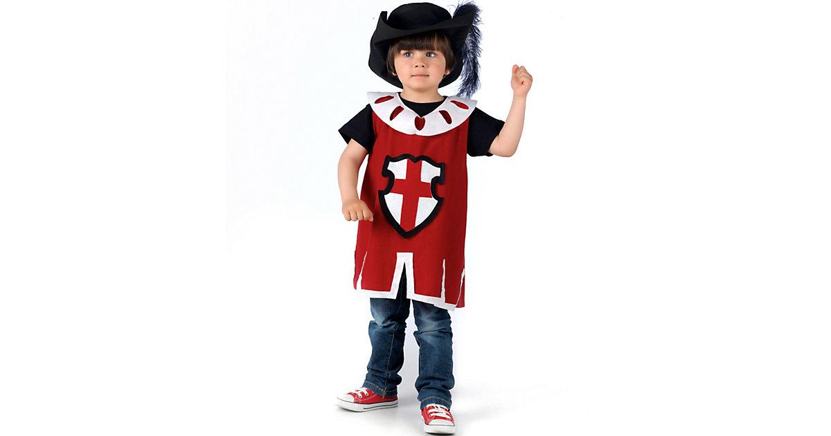 Kostüm Musketier Gr. 128/140 Jungen Kinder
