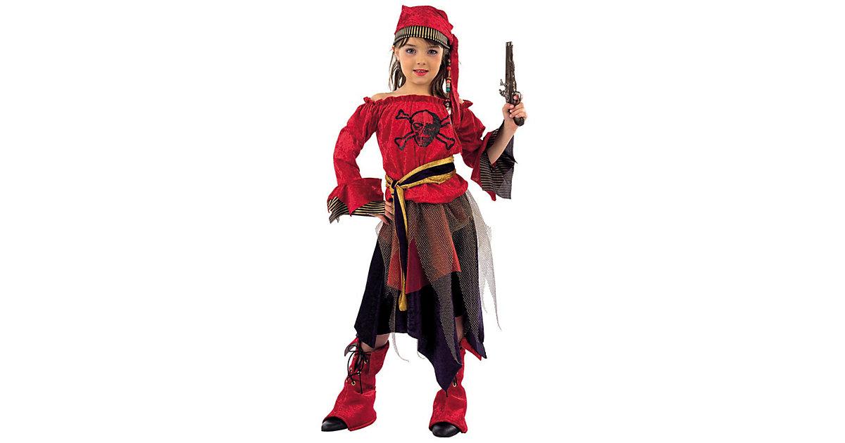 Kostüm Piratin Gr. 116/128