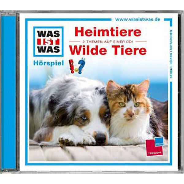 Heimtiere / Wildtiere, Audio-CD