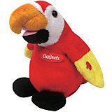 Попугай-повторюшка Dragon, красный