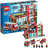 LEGO 60004 City: Feuerwehr-Hauptquartier