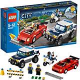 LEGO City Police 60007: Погоня за преступниками