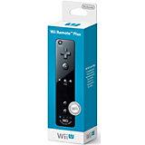 Wii U Remote Plus, schwarz (Wii kompatibel)