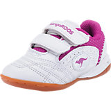 KANGAROOS Kinder Sportschuhe BABYYARD, weiß/rosa