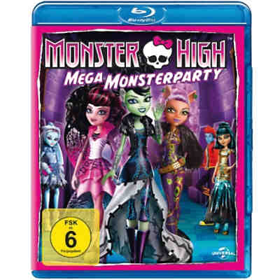 BLU-RAY Monster High - Mega Monsterparty