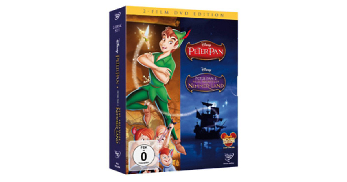 DVD Disney´s Peter Pan Doppelpack - Teil 1 + 2 (Special Edition)