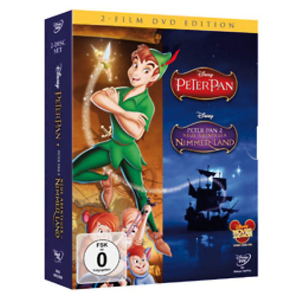 DVD Disney's Peter Pan Doppelpack - Teil 1 + 2 (Special Edition)