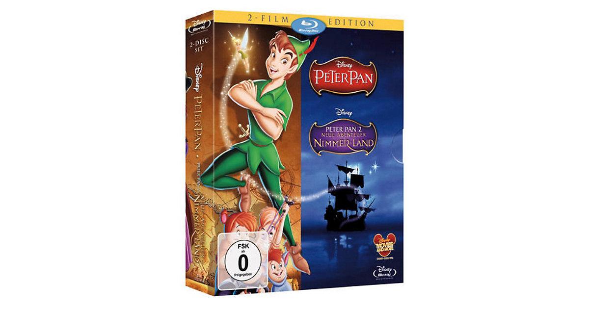 BLU-RAY Disney´s Peter Pan 1 & 2