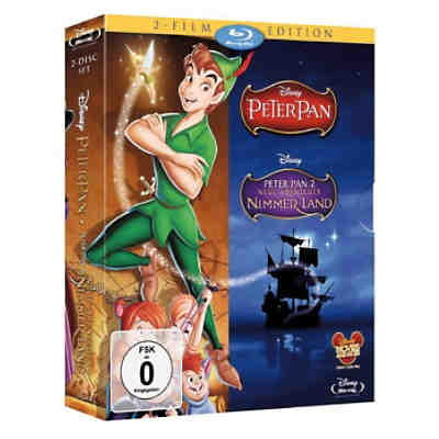 BLU-RAY Disney's Peter Pan 1 & 2