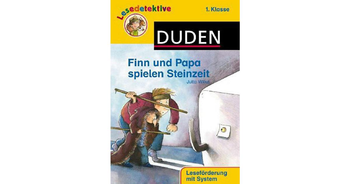 Buch - Lesedetektive: Finn und Papa spielen Steinzeit
