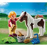 PLAYMOBIL  5291 Экстра-набор: Девочка и пони