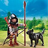 PLAYMOBIL 5408 Дополнение: Охотник с волком
