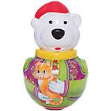Неваляшка Белый медведь Борис