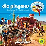 CD Die Playmos 32 - Überfall auf den Goldtransport
