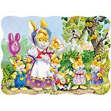 """Пазл """"Семья кроликов"""", 30 деталей, Castorland"""