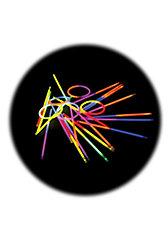 Knicklichter 25er Pack - zweifarbig -  mit Verbinder für Armreifen