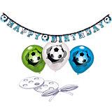 Ballon-Deko-Set Fußball