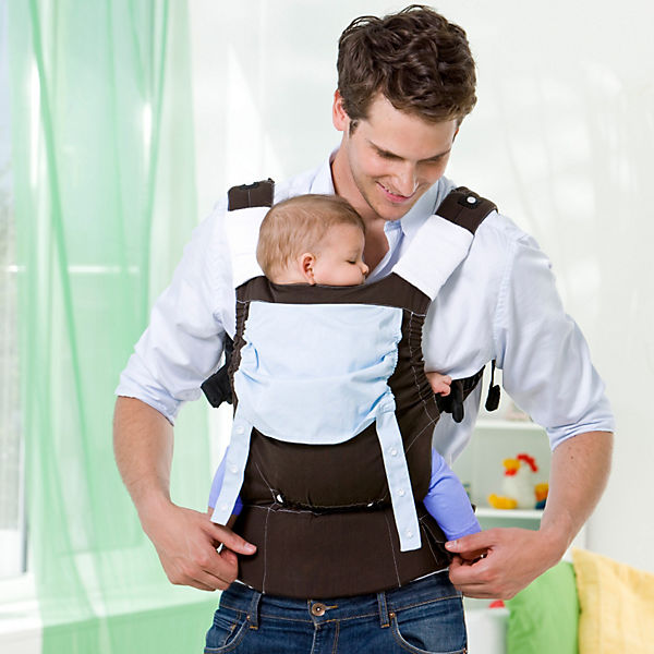 Babytrage Smart Carrier, earth