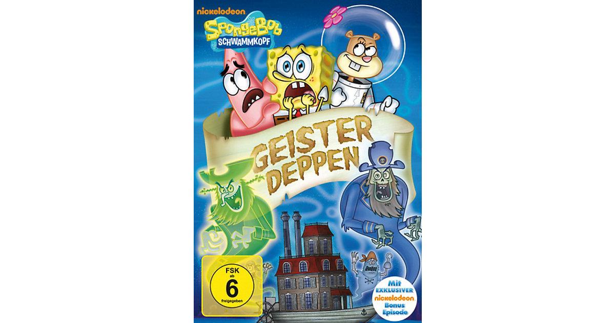 DVD Spongebob Schwammkopf - Geisterdeppen