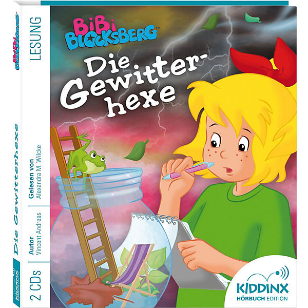 Bibi Blocksberg: Die Gewitterhexe, 1 Audio-CD
