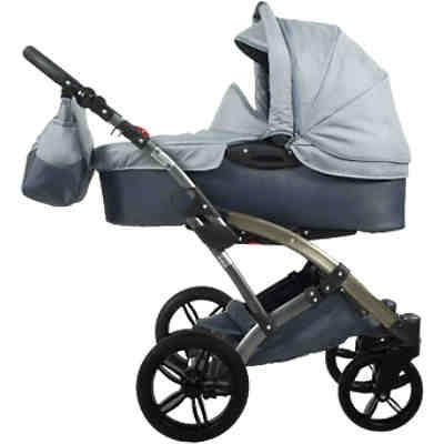 kombi kinderwagen voletto happy colour mit wickeltasche beige braun knorr baby mytoys. Black Bedroom Furniture Sets. Home Design Ideas