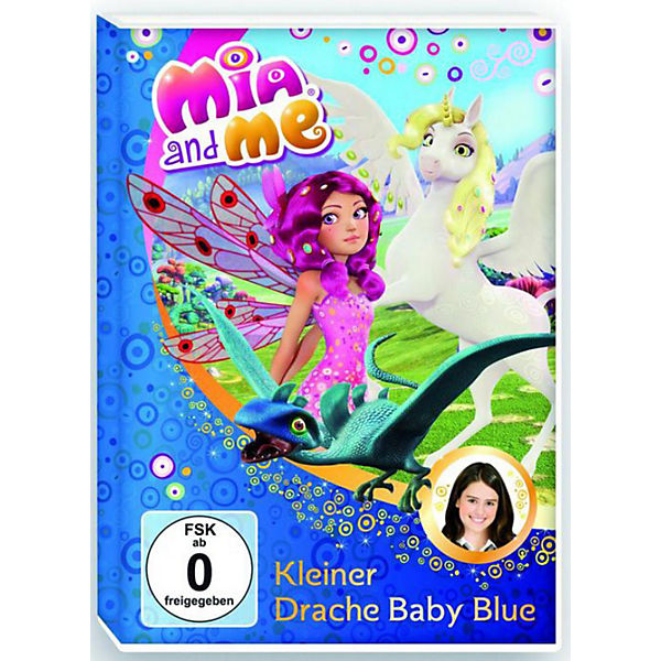 DVD Mia and me 05 - Kleiner Drache Baby Blue