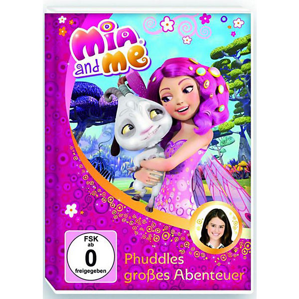 DVD Mia and me 06 - Phuddles großes Abenteuer