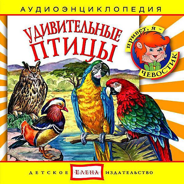 """Аудиоэнциклопедия """"Удивительные птицы"""", CD"""