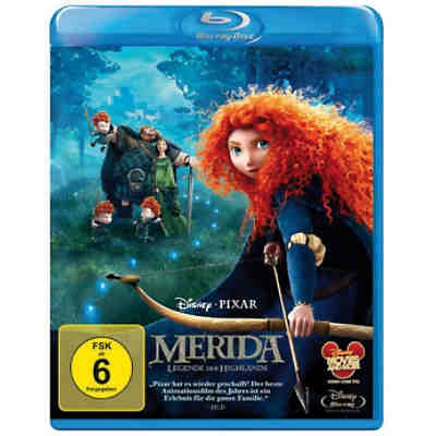 BLU-RAY Disney's - Merida - Legende der Highlands