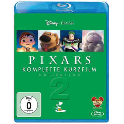 BLU-RAY Disney's - Pixar Kurzfilm Collection 2