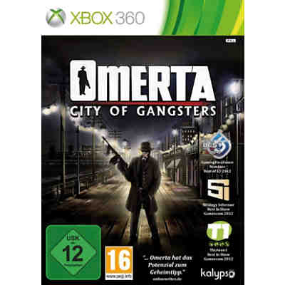 XBOX360 Omerta - City of Gangsters