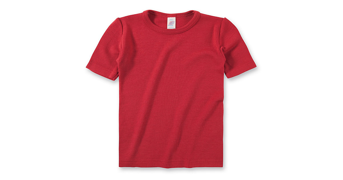 Unterhemd Wolle/Seide Gr. 128 Mädchen Kinder