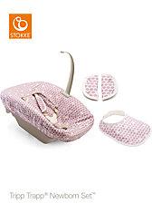 Tripp Trapp® Newborn Textile Set™, Purple Dots