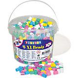 XL-Bügelperlen pastell, 950 Stück
